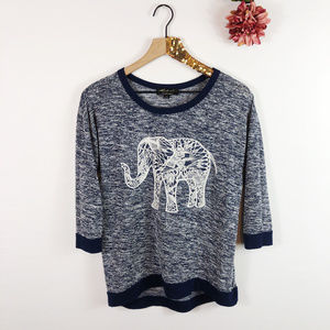 [ABSOLUTELY FAMOUS] Graphic Elephant Tee